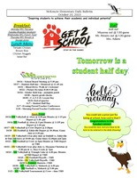McKenzie Elementary Daily Bulletin October 16, 2019