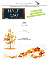 McKenzie Elementary Announcements 10/18/2018