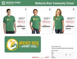 McKenzie River Community School T-Shirt Sale