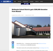 McKenzie School District gets $200,000 donation from Blueair