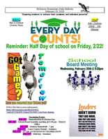 McKenzie Elementary Daily Bulletin February 19, 2019