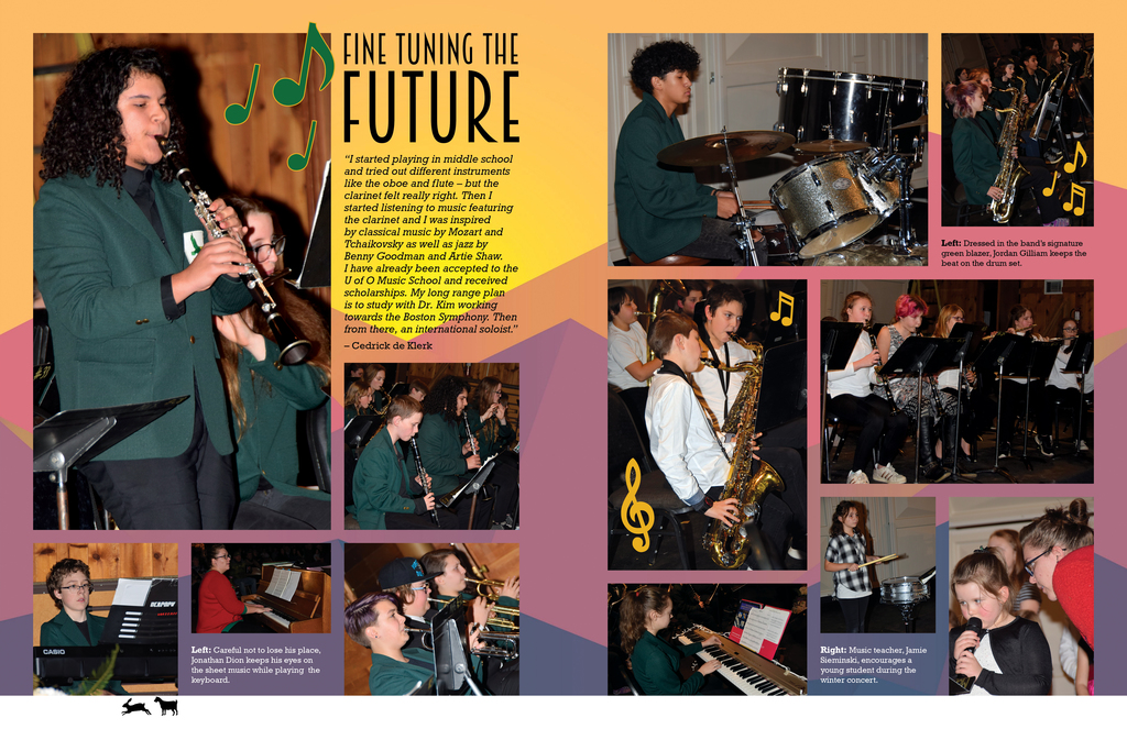 20-21 Music layout courtesy MRCS Yearbook