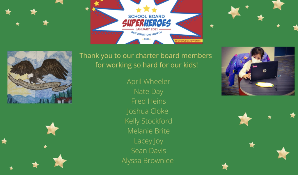Charter Board Thank You!