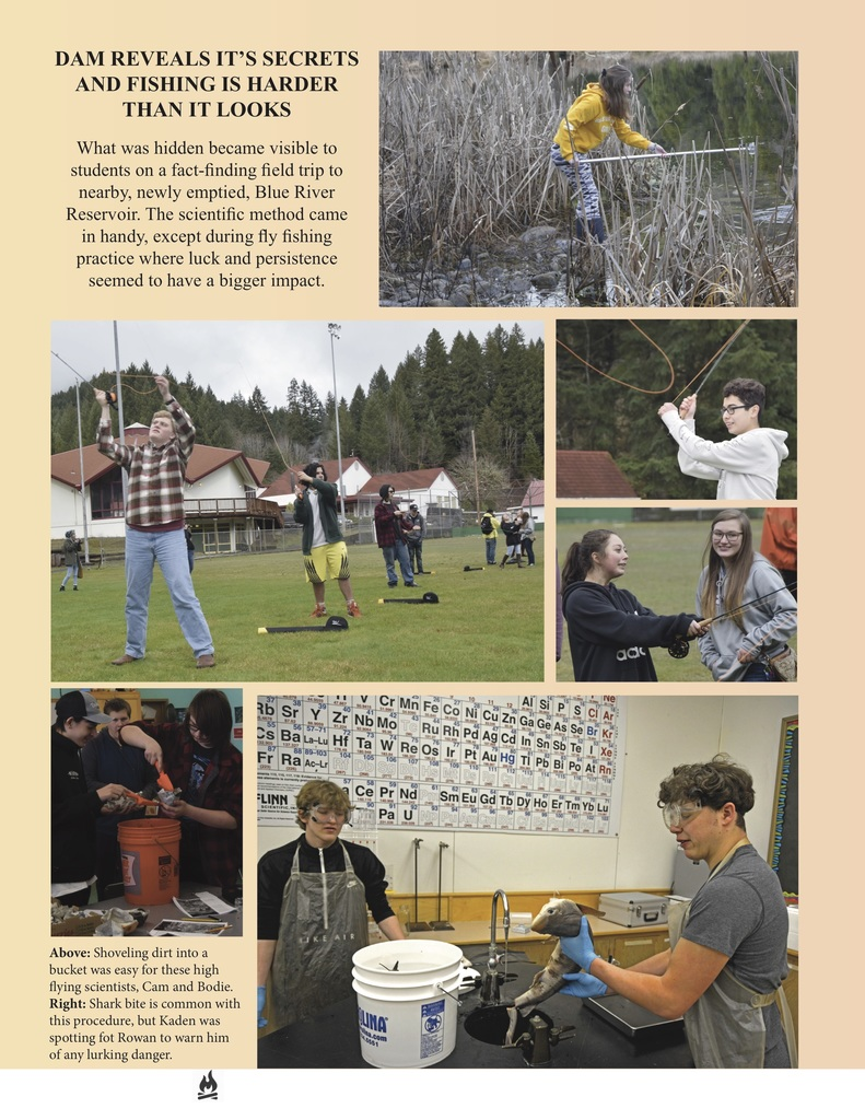Highlights of high school science courtesy of the Mckenzie High School Yearbook