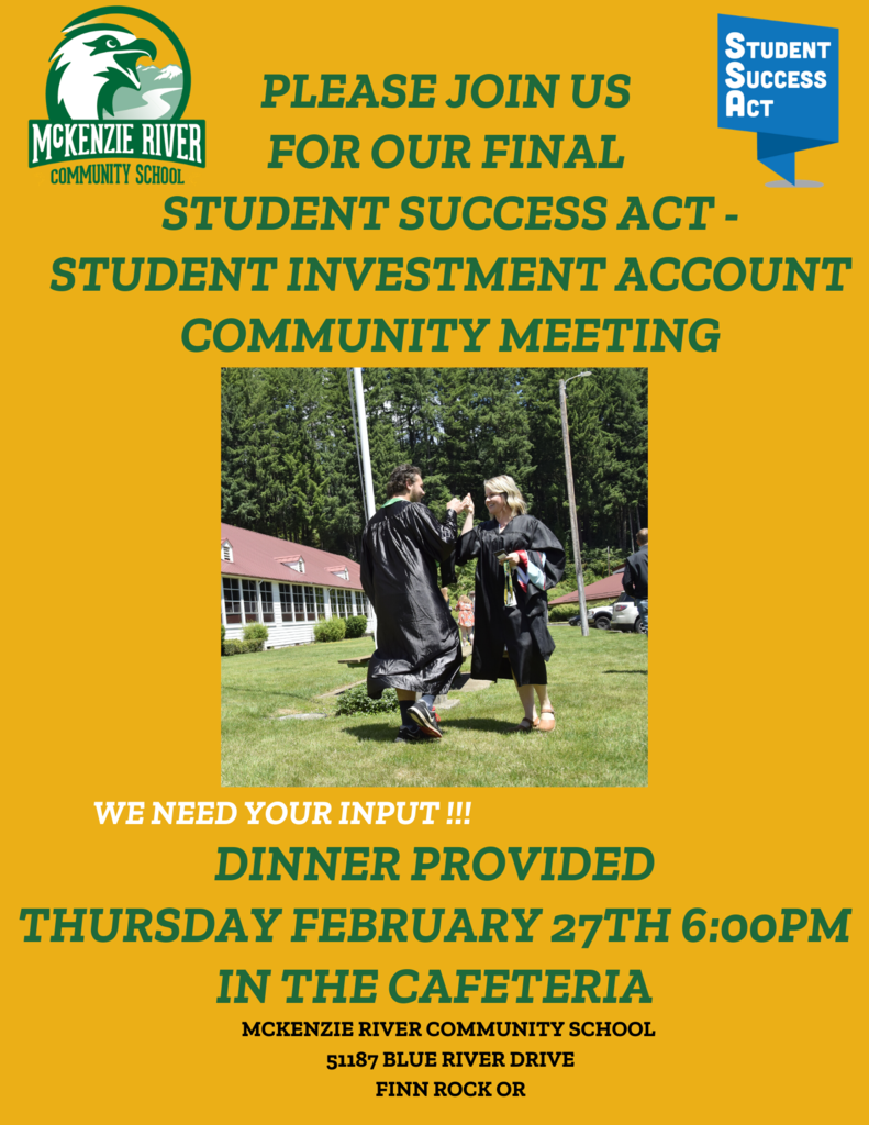 Flier for SSA/SIA Event on Thursday Feb. 27th.